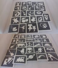 400 tattoo stencils for glitter tattoos  airbrush girls boys Children in Need