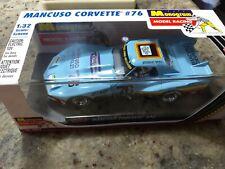 """Revell Monogram """"Mancuso Chevrolet"""" Chevrolet Corvette #76 1/32 Slot Car 85-4864"""