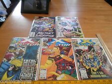 X-Factor comic book 1990s lot of 5 NM 90 91 92 93 94 Bagged and Boarded