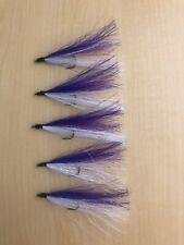 Bucktail River Streamer Flies- Hand Tied - Walleye, White Bass, Salmon (55)