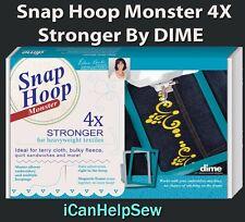 Snap Hoop Monster Magnetic Embroidery Hoop 260x200mm HM2 for Viking Husqvarna