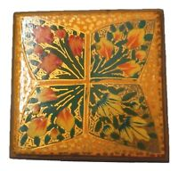 Decorative Antique Style Handmade Paper Mache Gift Jewelry Spice Trinket Box 06