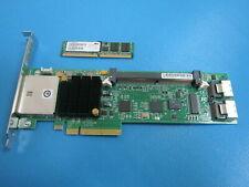 LSI MegaRAID SATA/SAS 8888ELP PCI-X RAID Controller L3-01119-14A WITH MEMORY
