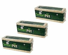 3 x SMARTPET SOFT WOOD SHAVINGS/SAWDUST FOR PET BEDDING HAMSTER GERBIL RABBIT