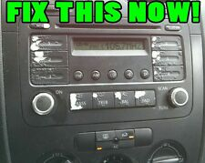 Volkswagen Radio Stereo Button Decals Stickers V2 JETTA GOLF PASSAT