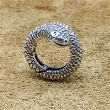 Sterling Silver Snake Lobster Clasp 925 Silver Animal Connector for Bracelet