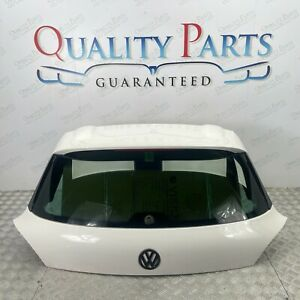 VW SCIROCCO MK3 2008 2013 COMPLETE BOOT LID TAILGATE TAIL GATE IN WHITE