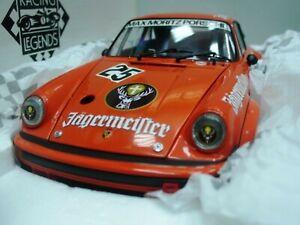 WOW EXTREMELY RARE Porsche 934 RSR TB #25 Jägermeister WSC 1976 1:18 Exoto-935