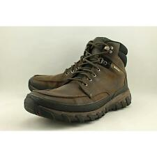 Rockport CSP Moc Toe Boot Men US 11.5 Brown Hiking Boot Pre Owned  1037