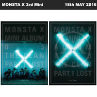 MONSTA X THE CLAN 2.5 PART.1 LOST 3rd Mini Album 2 SET Ver CD+Photo Book KPOP