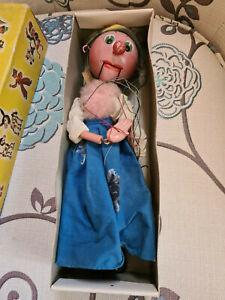 VINTAGE 'OLD LADY' BOXED PELHAM PUPPET.