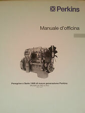 MANUALE D'OFFICINA PERKINS PEREGRINE E SERIE 1300