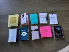 2-lot Of 10 Fragrance Sample Vails, High End Great For Traveling,Dior,prada❤️🌹