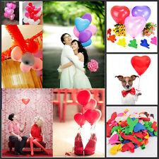 100x globos de látex en forma de corazón decoración de cumpleaños del banquetstG