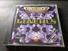 CD MUSIQUE, CYBERTRACKS, GENETICS, HI-TECH ELECTRONIC MUSIC d occasion, bon état
