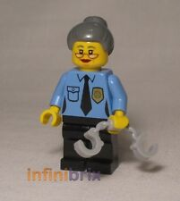 Lego Ma Cop from set 70809 Lord Business' Evil Lair The Lego Movie Female tlm019