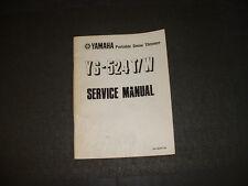 1984 Yamaha YS-524T/W Snowblower - Factory Service Manual