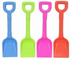Beach Sand Toys 10 Inch Plastic Scoop Spade ~ Various Colours