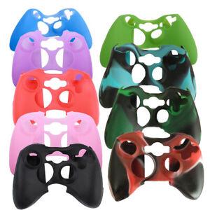 Soft Silicon Camo Protective Skin Case Cover for Xbox 360 Game Controller Cover