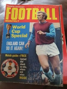 CHARLES BUCHAN'S FOOTBALL MONTHLY - JUNE 1970 - WORLD CUP SPECIAL