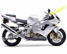 Body Kit For Kawasaki ZX-9R 02 03 Ninja ZX9R 2002 2003 Silver Black ABS Fairing