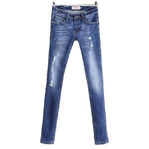 Celebrity Selena Gomez Style Low-rise Rip Skinny Jeans Australia RRP $49 6 12 14