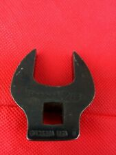 """Snap-on 3/8"""" Drive 7/8"""" SAE Industrial Crowfoot Open End Wrench GFCO28A NOS"""