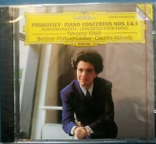 YEVGENY KISSIN: Prokofiev PIANO CONCERTI Nos 1+ 3 New Abbado Factory Sealed New