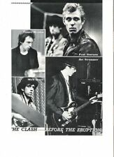 The Clash Punk/New Wave Memorabilia Photos
