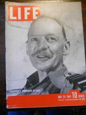 Life Magazine July 21 1941 WWII British Defending Singapore