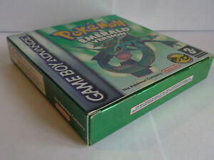 Pokémon Emerald Version Game Boy Advance UK/ NL Near Mint (Box & Manual Incl.)
