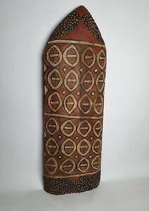 Ethnic Shield In Asmat Iria Jaya Indonesia Style Vintage