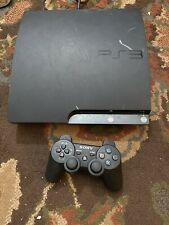Sony PlayStation 3 Ps3 Slim 1 Controllers  120gb Tested Cech2101a No Cords