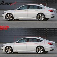 Fits 18-19 Honda Accord Window Trim Chrome Delete Vinyl Kit