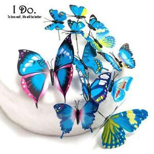 Butterfly Cake Topper Custom Wedding Designs 12Pcs Butterflies Plastic Supplies