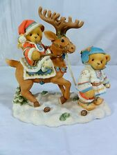 "Cherished Teddies "" Sven & Liv - All Paths Lead To Friendship "" Figurine"