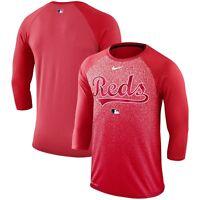 Cincinnati Reds Nike Mens AC Legend DRI-FIT 3/4 Raglan T-Shirt - Large - NWT