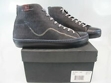 7 FOR ALL MANKIND Men's QUEST Black Canvas High Top Fashion Sneaker US 8 M