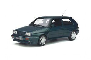 VW GOLF A2 RALLYE model car green 1990 Ltd Ed 1:18 OTTO MOBILE 892 Volkswagen