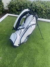 G/Fore Transporter III Golf Bag Snow Brand New! Perfect! White Black