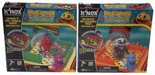 KNEX Building Sets Pacman Ghostly Adventures Lot 2 Spirals Betrayus World Maze