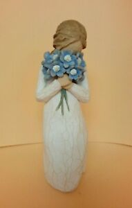 Willow Tree Figurine 'Forget-Me-Not' Susan Lordi 2011