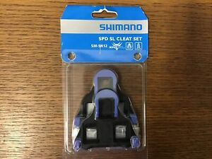 Shimano SPD-SL SM-SH12 Road Pedal Cleats Floating Dura-Ace Ultegra Cleat Set