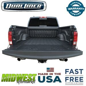 DualLiner Black Truck Bed Liner Fits 2004-2014 Ford F-150 5.5' Bed
