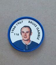 Bruce Gamble Parkhurst Coin  1966-67 issued 1995-96  # 107