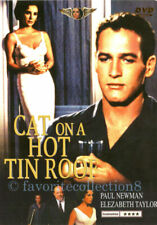 Cat on a Hot Tin Roof Elizabeth Taylor Paul Newman DVD