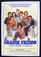 Werbeplakat der Große Kaltweiß William Hurt Kline Goldblum The Big Chill M312
