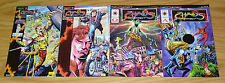 Chaos Effect #1-2 VF/NM complete series + epilogue #1-2 - valiant comics set lot