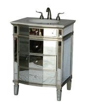 """26"""" Contemporary Style Single Sink Bathroom Vanity Model 2273-Sc"""