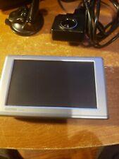 """Garmin Nuvi 650 NA Portable GPS Receiver 4.3"""" Screen Charger Bundle Travel Case"""